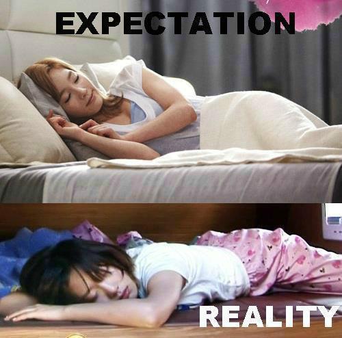 Tae Sleeping