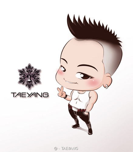 big bang wallpaper entitled Tae Yang fanart