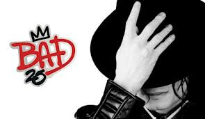"""The """"25th"""" Anniversary Edition Of """"BAD"""" Logo"""