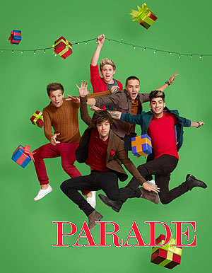 The Boys Christmas Photoshoot