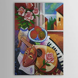 Fine Art Hintergrund entitled The Musik Life Oil Painting Free Shipping