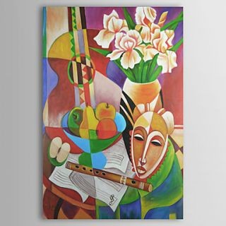 Fine Art wallpaper entitled The Music Life Oil Painting Free Shipping