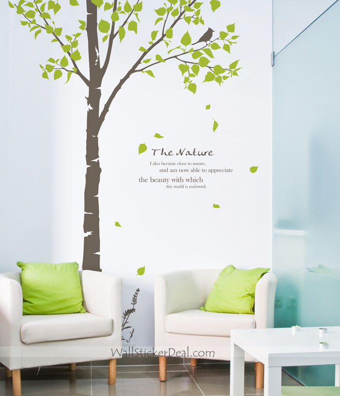 Wall Sticker For Home Decor : Wall decals home grasscloth wallpaper