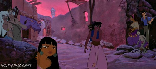 The Night Streets of Agrabah