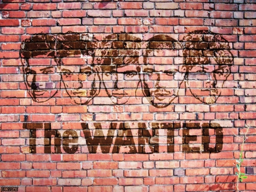 The Wanted Graffiti