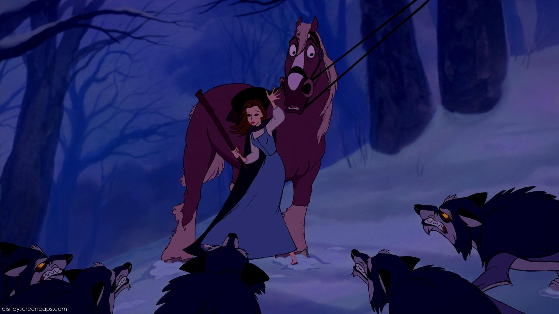 The Người sói Attack scene