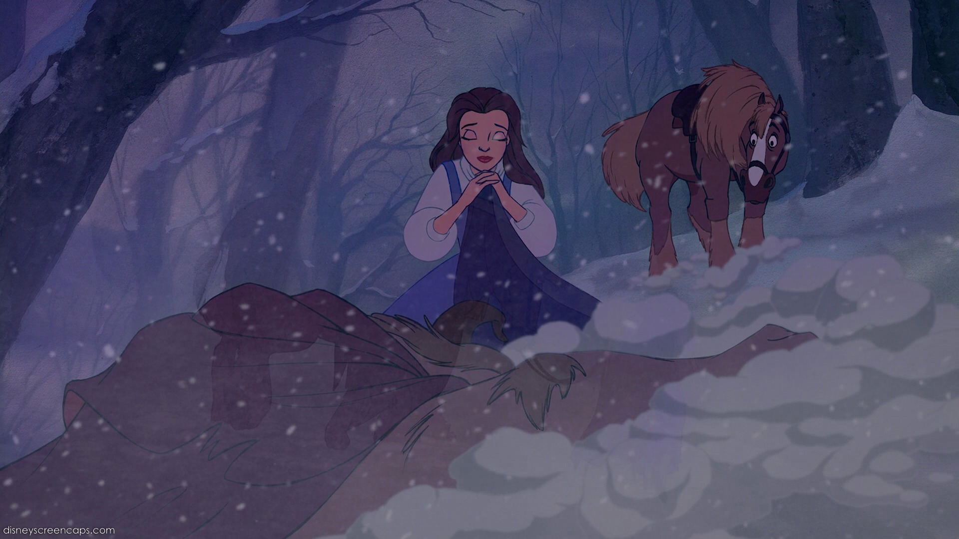 The Wolves Attack scene