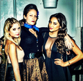 The pretty little liars cast celebrate season 3: fotografias from the embrulho, envoltório party