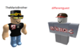 TheMarioBrother & differentguest - roblox fan art