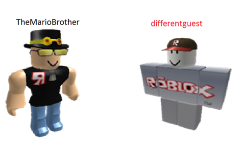 TheMarioBrother & differentguest