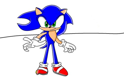 This is my best Sonic drawing yet