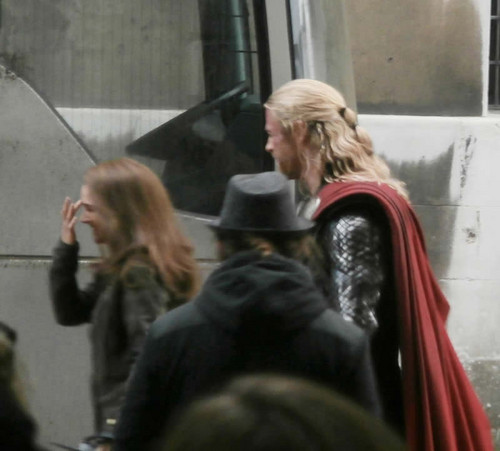 Thor 2 > Shooting at Greenwich University, London (November 20th 2012)
