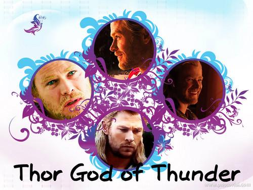 Thor Hintergrund titled Thor!