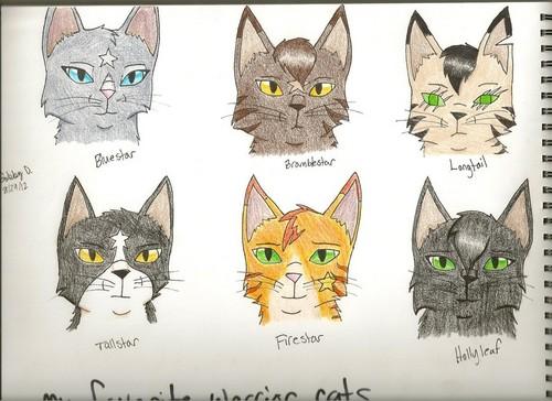 Thunderclan aleatório gatos