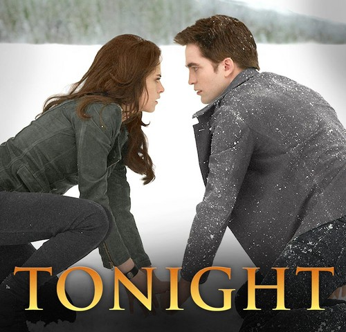 Breaking Dawn The Movie wallpaper possibly containing a business suit and a well dressed person entitled Tonight Breaking Dawn Part 2
