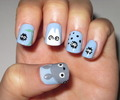 Totoro Nails - my-neighbor-totoro photo