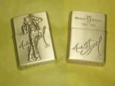 Two goud Michael Jackson Cigarette Lighters