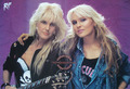 Two queens of metal \m/ - female-rock-musicians photo