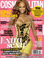 Tyra Banks for COSMOPOLITAN magazine December 2012 issue