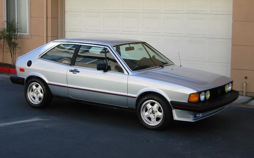 1981 VW Scirocco S