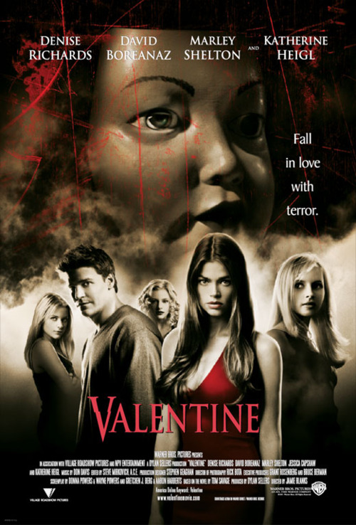 Valentine 2001 Movie Images Valentine HD Wallpaper And