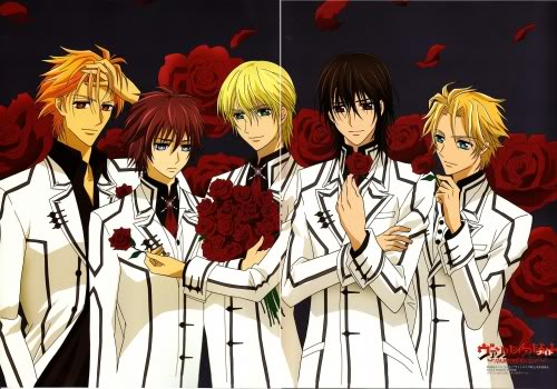 Vampire Knight karatasi la kupamba ukuta with anime called Vampire Knight