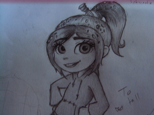 Vanellope von Schweetz close up