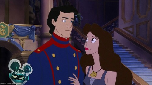 Walt 迪士尼 Screencaps - Prince Eric & Vanessa