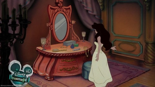 The Little Mermaid wallpaper probably with a throne entitled Vanessa
