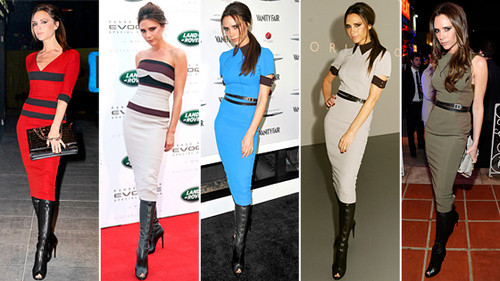 Victoria Beckham Style 2012
