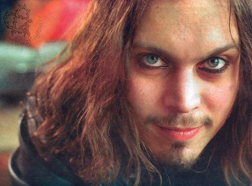Ville Valo 壁纸 probably with a portrait entitled Ville's smile