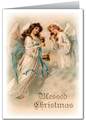 Vintage Angel Christmas Card - vintage fan art