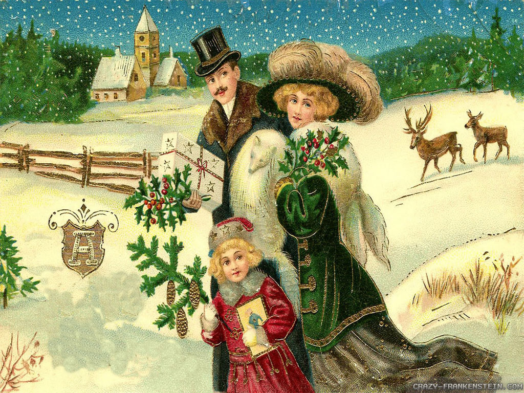 Christmas images Vintage Christmas wallpaper photos (32887775)