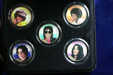 Vintage Michael Jackson Collector Coins