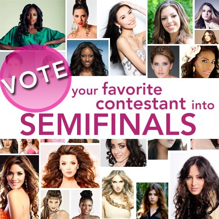 Miss Universe Images Vote For Your Favorite Contestant Into