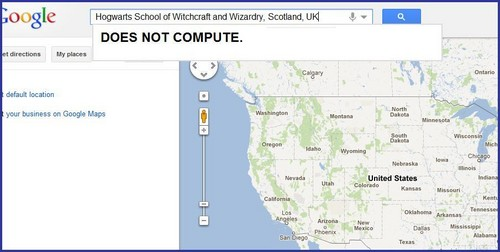 WHY CAN'T I FIND HOGWARTS!!!?