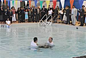 Water Baptism At The District Convention Of Jehovah's Witnesses