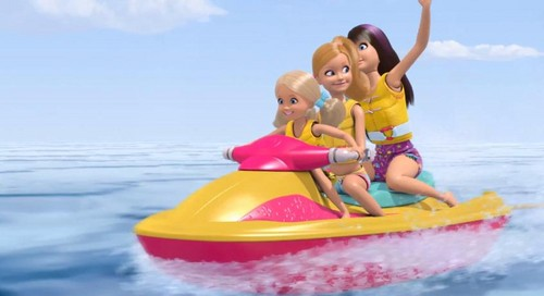 Barbie: Life in the Dreamhouse پیپر وال called Water Motor Ski