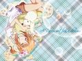 Yaya's slumber - shugo-chara wallpaper