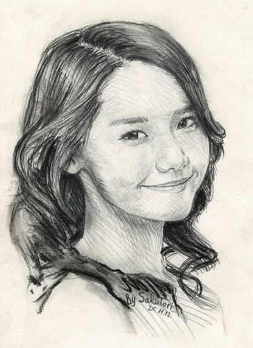 S.M.Entertainment wallpaper possibly with a portrait called Yoona by SakuTori