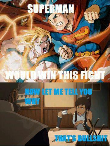 You tell him Korra!