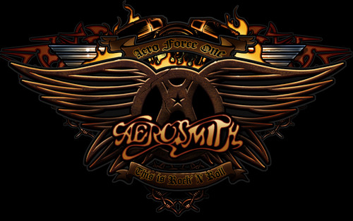 Aerosmith Hintergrund called aerobaby