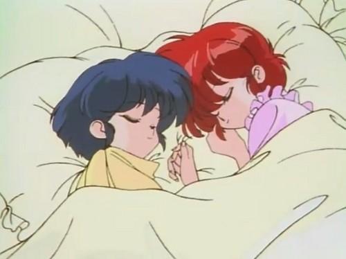 ranma-chan and akane (らんまちゃんとあかね)