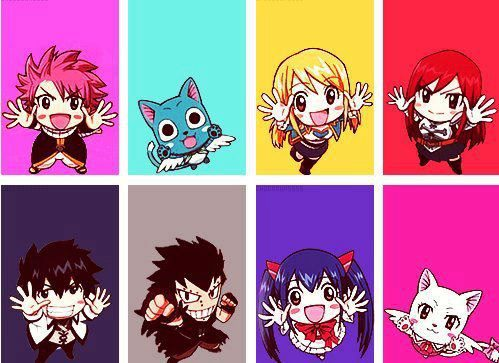 chibi fairy tail