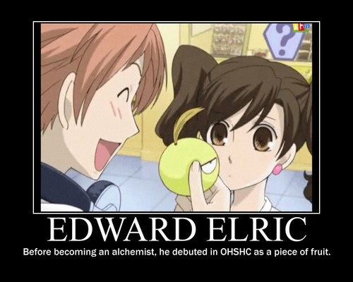 edward elric in Ouran....
