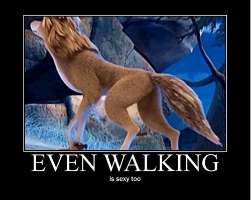 even walking