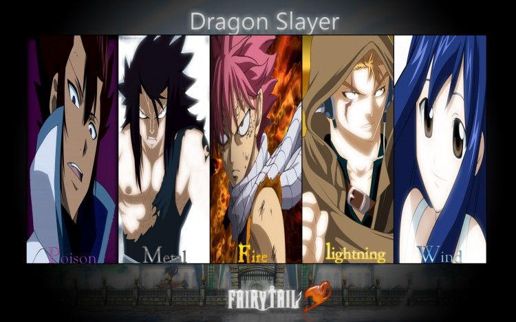 Fairytail Dragonslayers Images Dragons Wallpaper And Background Photos