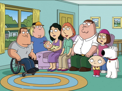 Family Guy wallpaper with anime titled family guy