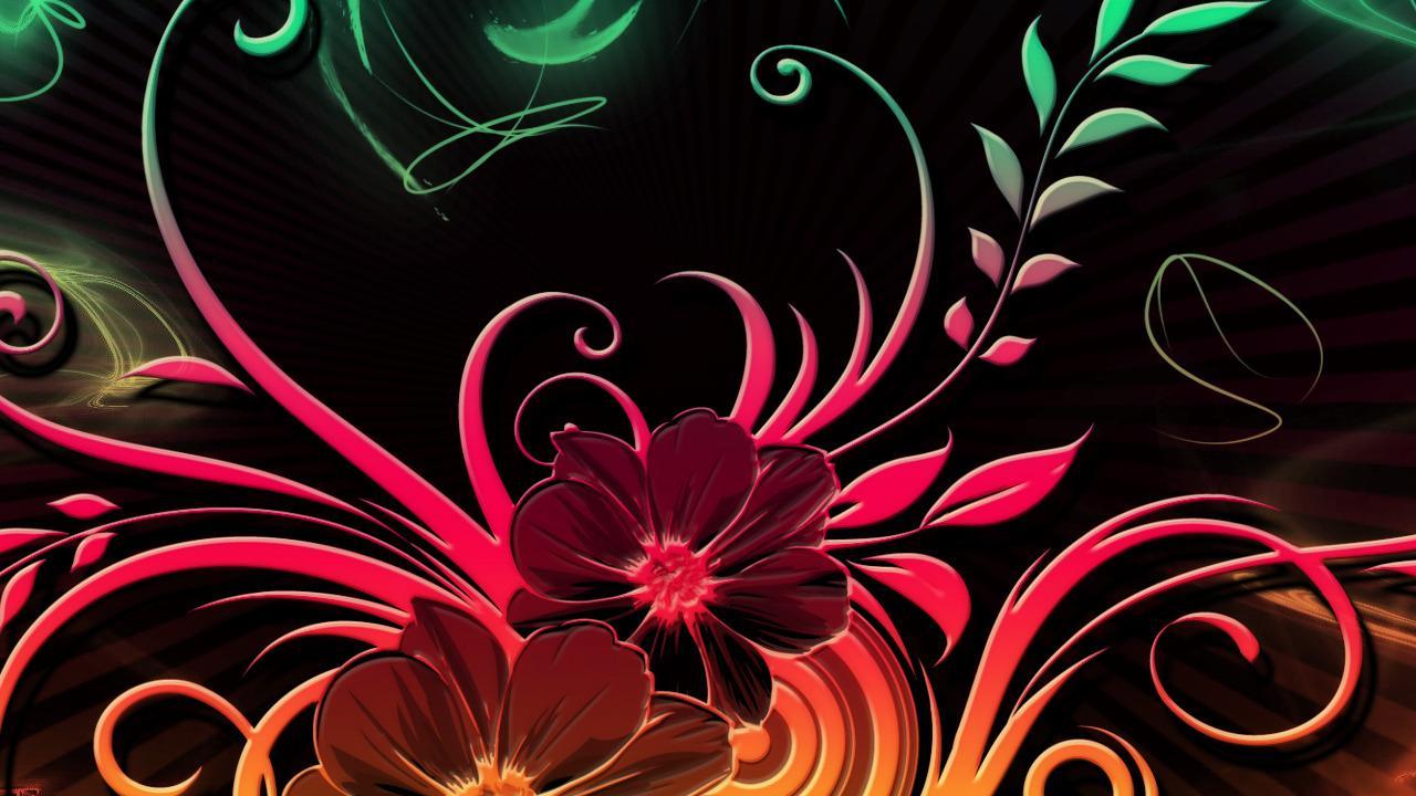fleur fond d'écran