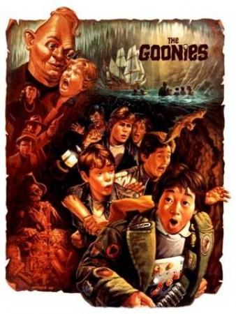 The Goonies দেওয়ালপত্র with জীবন্ত called goonies